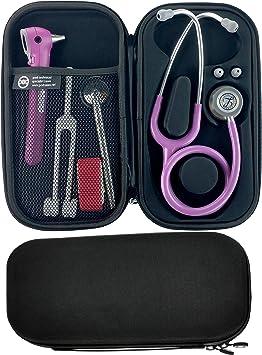 Pod technical classicpod estuche para estetoscopio, color negro: Amazon.es: Salud y cuidado personal