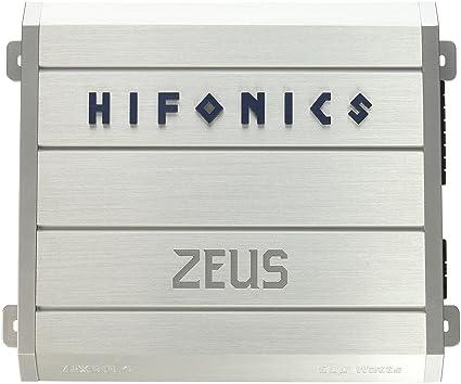 Hifonics ZRX6164 HIFONICS ZEUS 4 x 75 @ 4 Ohms 4 x 150 @ 2 Ohms