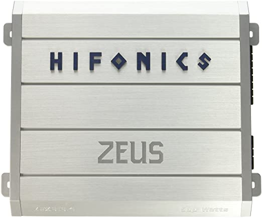 Hifonics ZRX616 4 Zeus 4-Channel Class-A/B Car Amplifier, 600-Watt