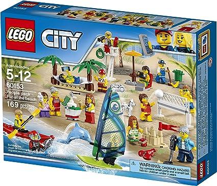 LEGO City Town - Pack de MiniFiguras Diversión en la Playa ...
