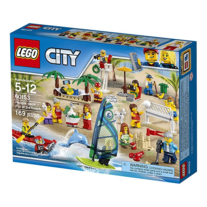 Ensemble De Construction Figurines 60153 La Jeu Lego City Plage wO0nPk