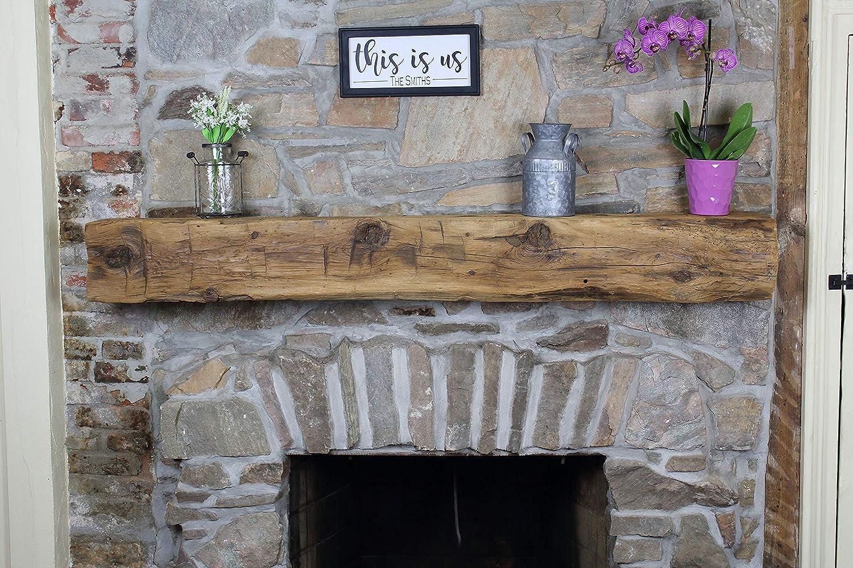 Phenomenal Amazon Com Modern Timber Craft Fireplace Mantel Shelf Download Free Architecture Designs Itiscsunscenecom