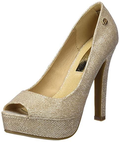 Zapatos dorados Xti para mujer m52jz9JgY
