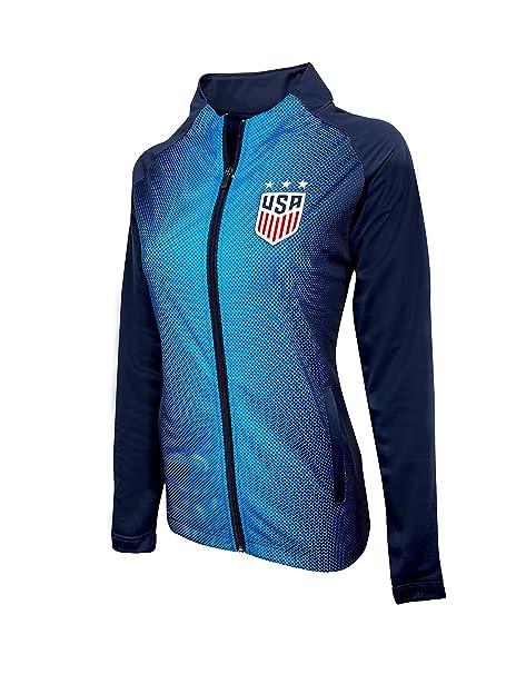 Amazon.com: USWNT - Chaqueta de fútbol para mujer, talla ...