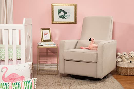Amazon.com: DaVinci Piper All-Purpose Upholstered Recliner with ...