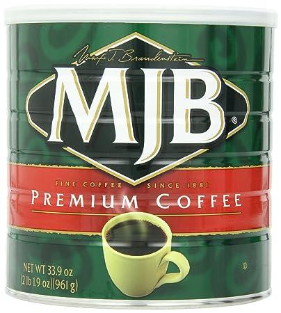 MJB Coffee, Premium Ground, 33 9 Ounce