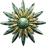 Regal Art & Gift 10200 Sunburst Sun Wall Decor, Aqua