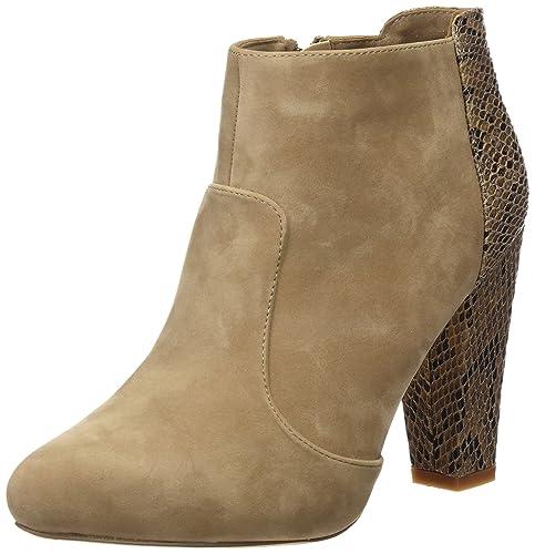 Mariamare 61305, Zapatos De Tacón, Mujer, Marrón (Peach Taupe/Serpiente Taupe), 41