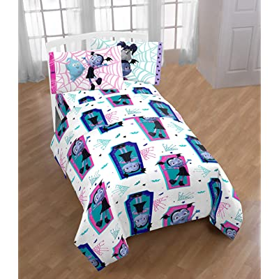Jay Franco Disney Vampirina 4 Piece Full Bed Sheet Set - Super Soft Fade Resistant Microfiber: Home & Kitchen