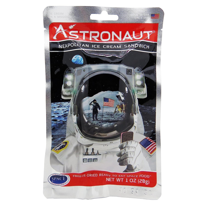 Alimento Espacial Comida Astronauta - Helado Sabor Napolitano