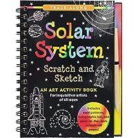 Scratch & Sketch Solar System (Trace Along)