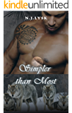 Simpler Than Most: an alpha/alpha romance (The Stars of the Pack Book 6)