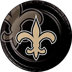 Creative Converting New Orleans Saints Dinner Plates, 9