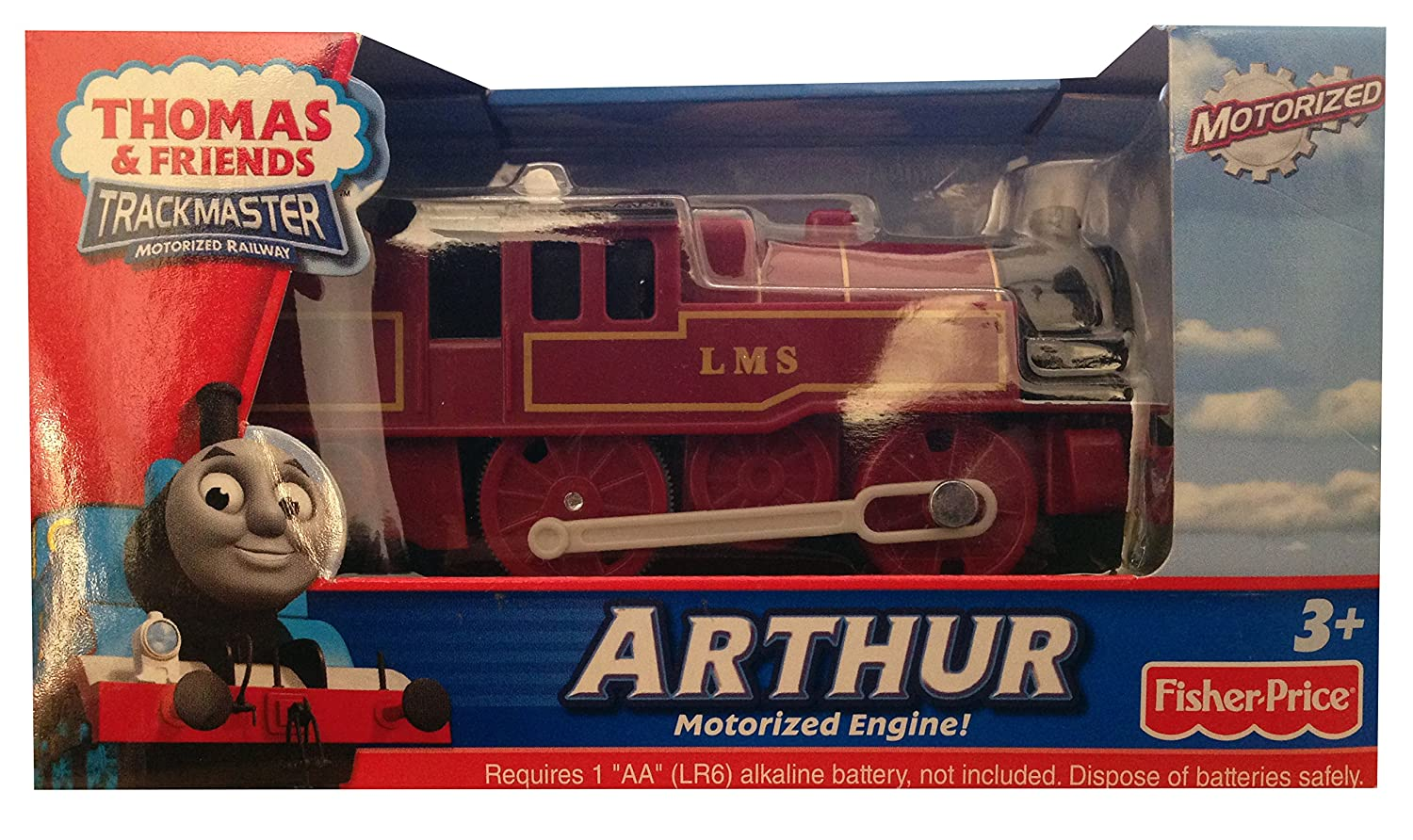 thomas u0026 friends arthur trackmaster motorized engine amazon