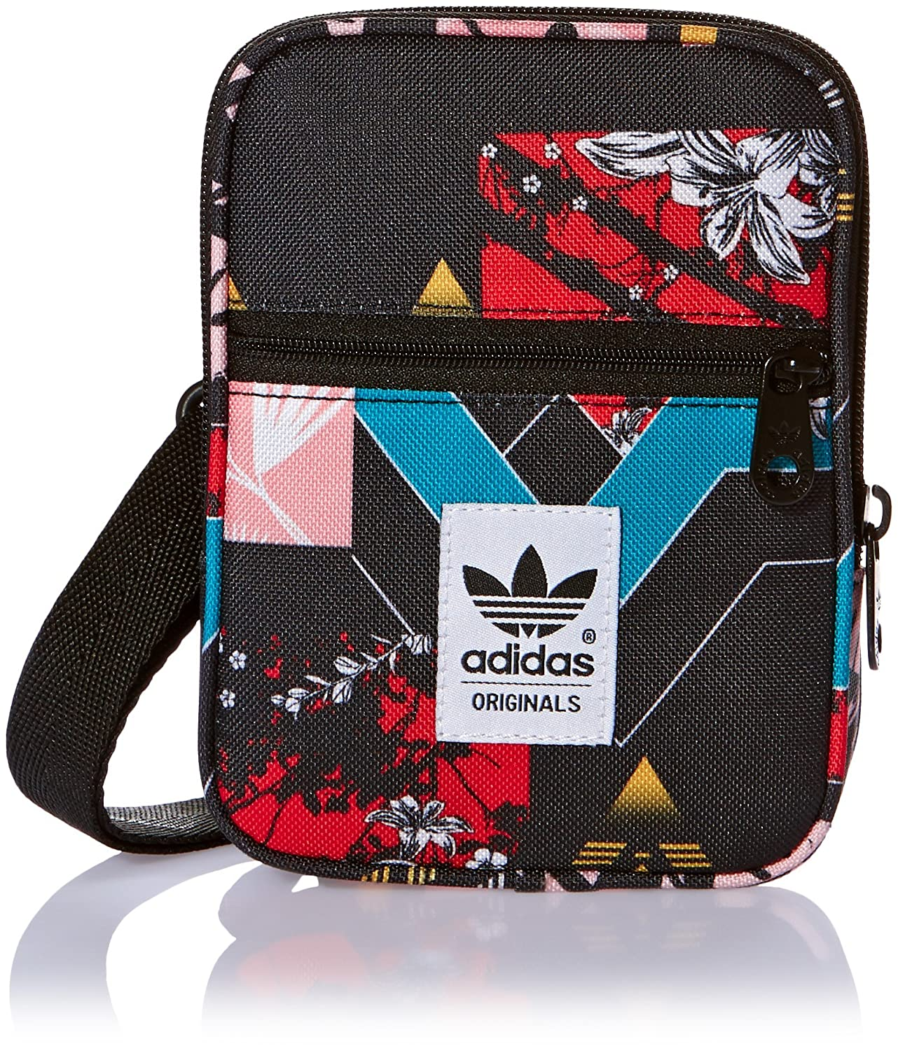 Adidas Originals AC Mini Festival Bag Small Shoulder Bag Floral 13 x 17 x 3 cm 0.6 Liter AJ7038