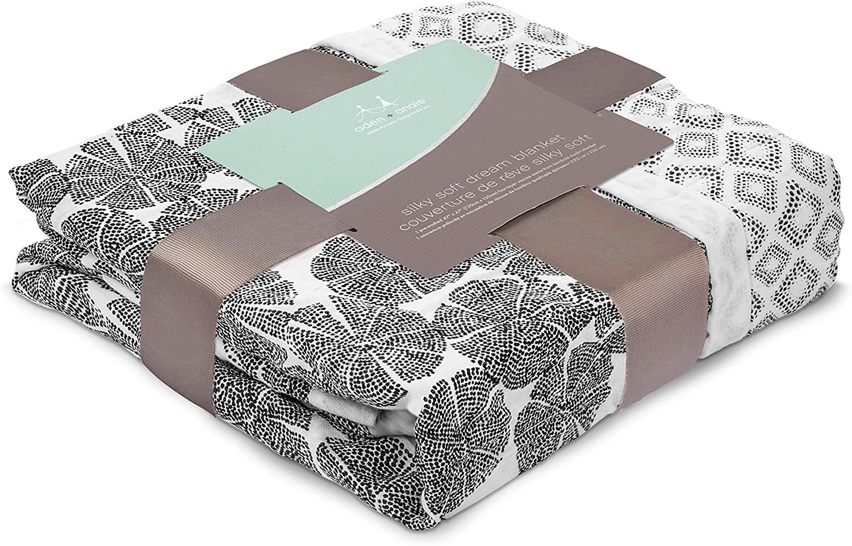 featherlight aden anais couverture de r/êve silky soft 100/% viscose de bambou 120cm x 120cm