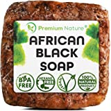 Authentic Raw Black African Soap Bar Acne Face Wash 1 LB - Cruelty Free Organic Original Moisture Natural Butter Pure Body Ja