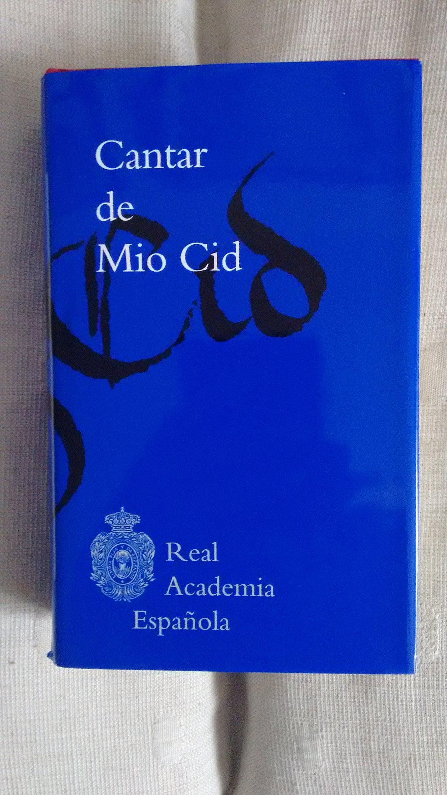 Cantar de Mio Cid (2016) : Amazon.es: Anónimo, Real Academia Española: Libros