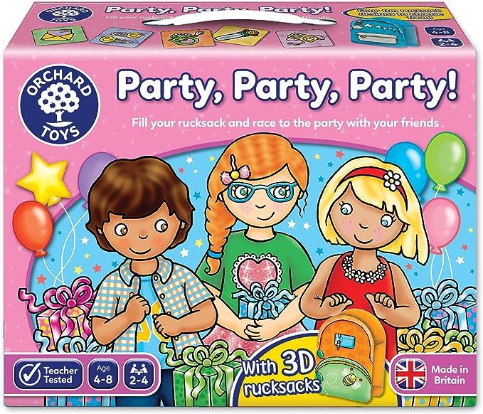 Orchard Toys Party Party Party! - Juego de mesa de fiesta: Amazon.es: Juguetes y juegos
