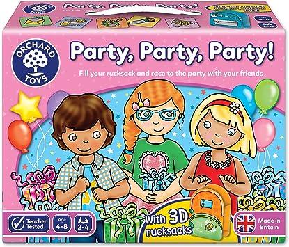 Orchard Toys Party Party Party! - Juego de mesa de fiesta ...
