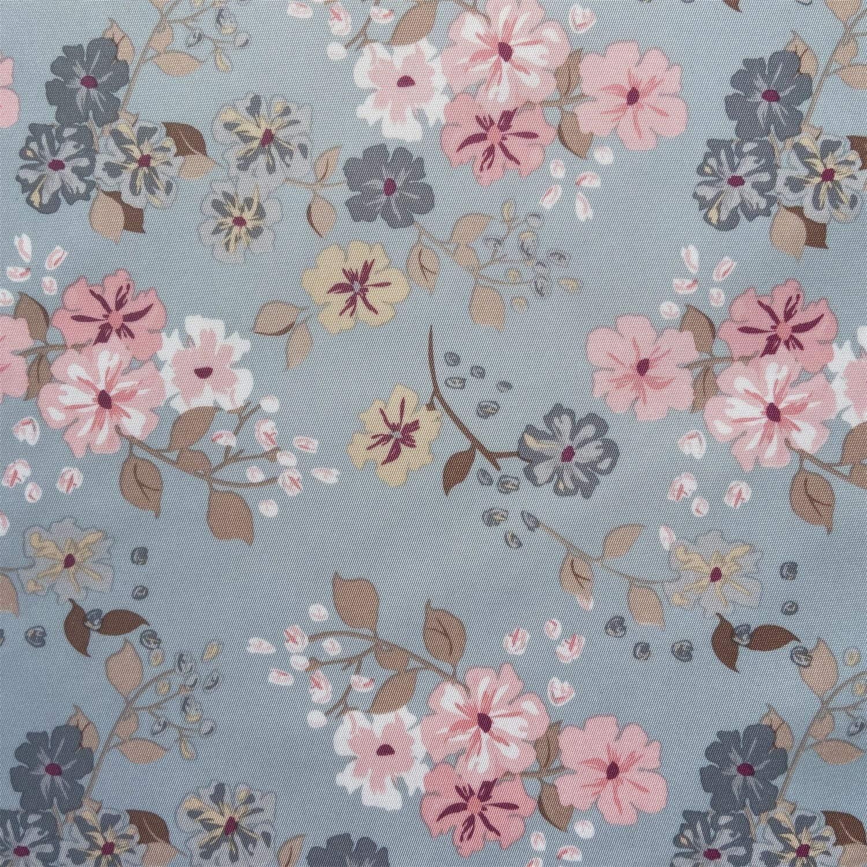 "willikiva Printed Waterproof Quilting Fabric DIY Sewing Crafts Indoor Outdoor UpholsteryFabricbyTheYard 36""(91.44CM) x 57""(145CM) (Flower)"