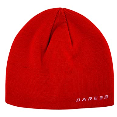 eb88e968fc7 Dare 2B Kids Fiery Red Prompted Soft Fleece Ski Beanie One Size ...