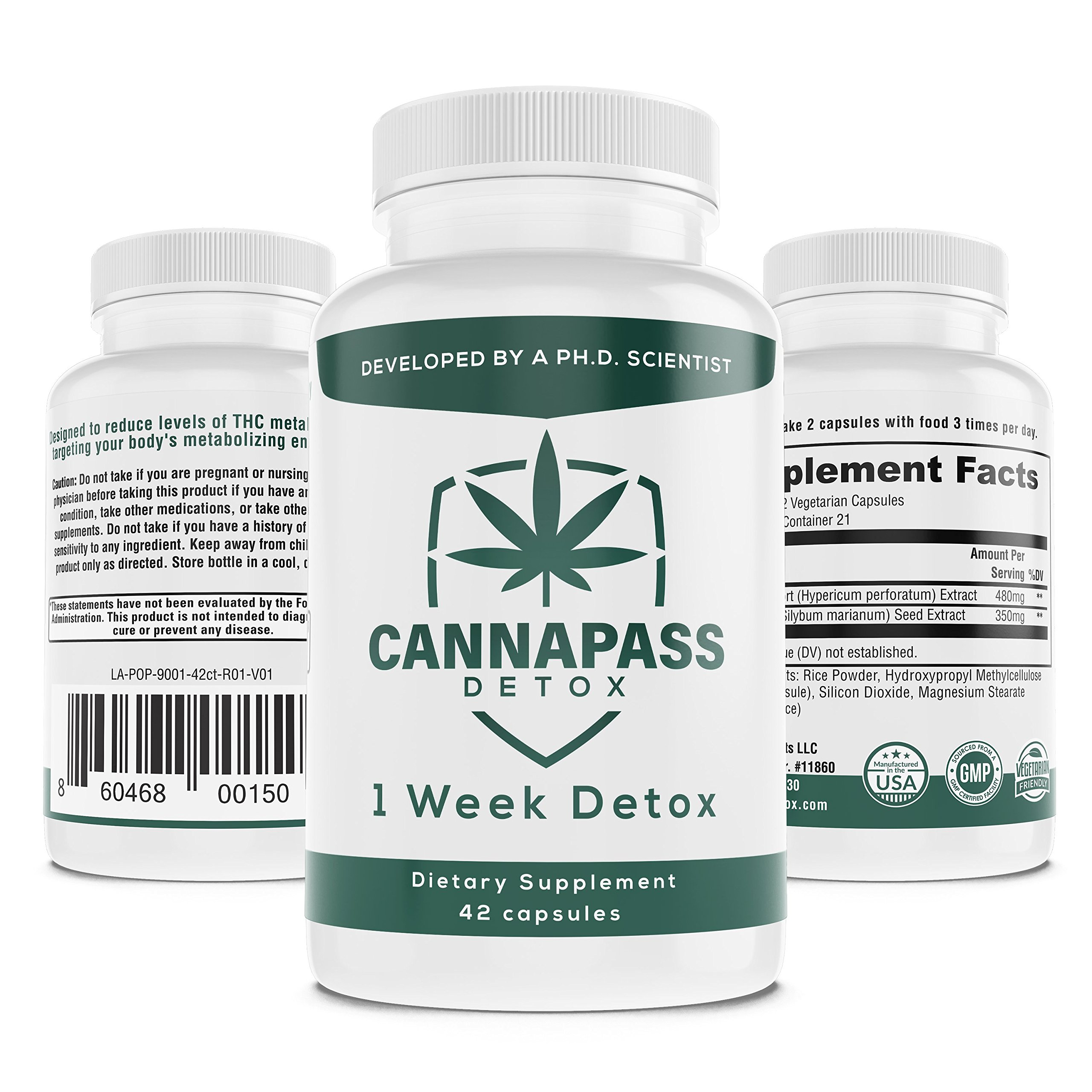 CannaPass THC Detox - 1 Week Supply by CannaPass Detox (Image #3)
