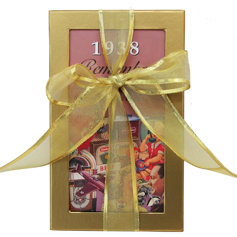 80th Birthday Gift Basket Box