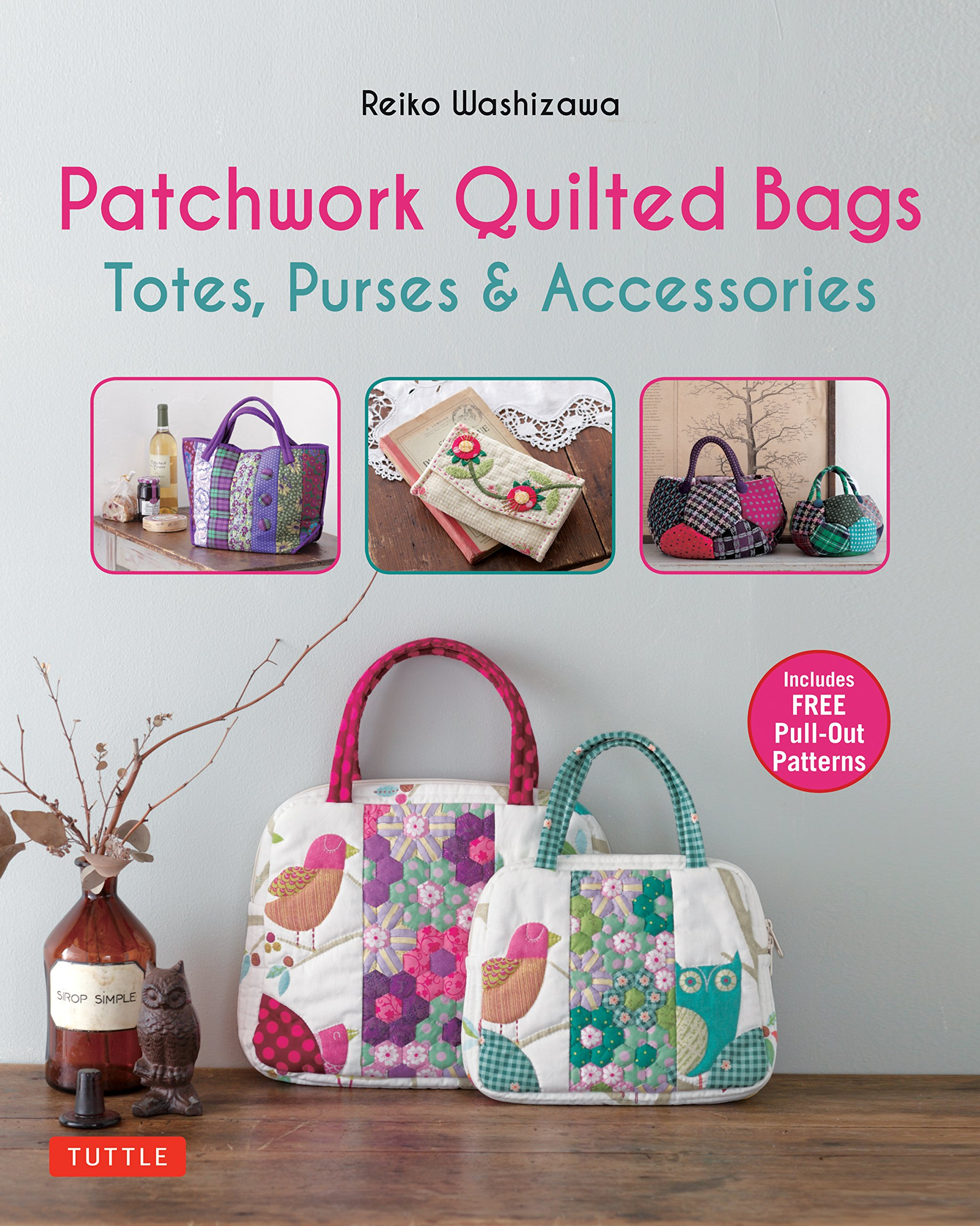 Patchwork Quilted Bags Totes Purses And Accessories Reiko