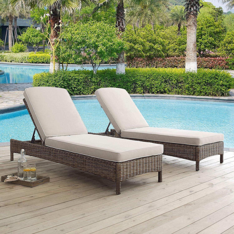 Amazon Crosley Furniture Bradenton Chaise Lounge with