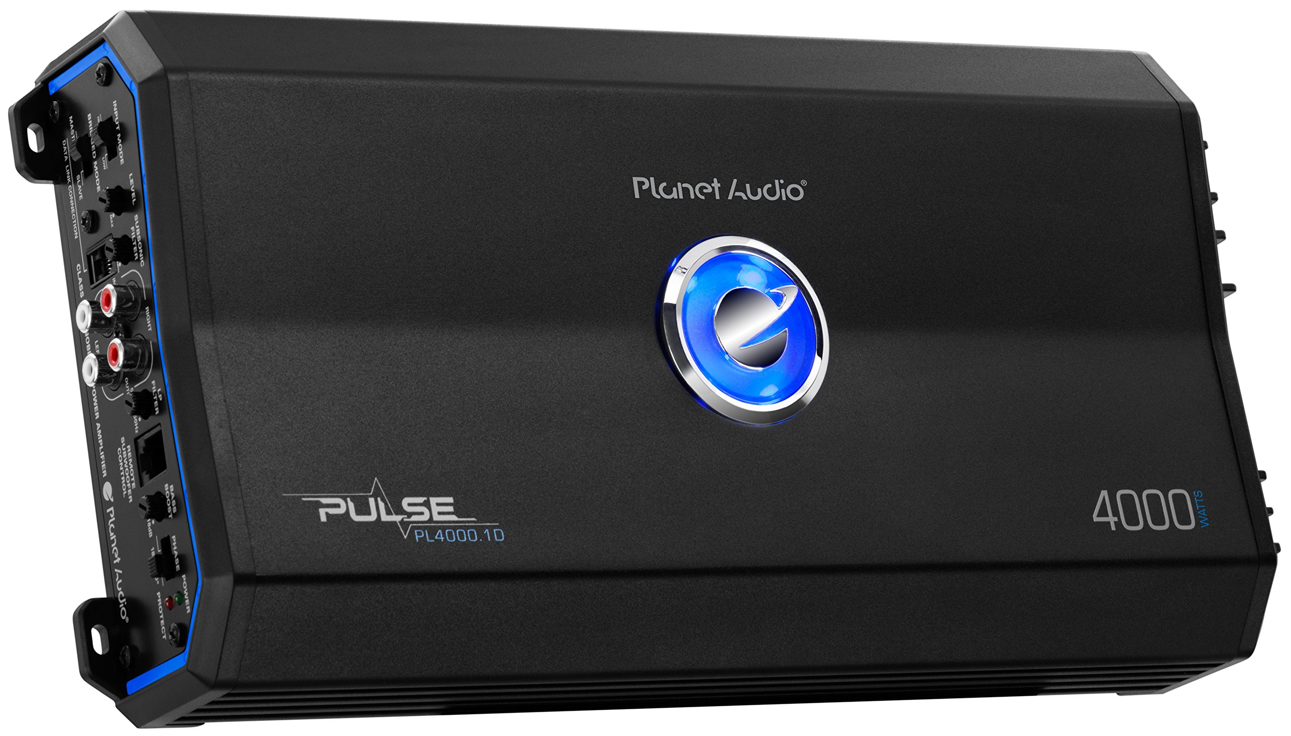 Planet Audio PL4000.1D Pulse 4000 Watt, 1 Ohm Stable Class D Monoblock Car Amplifier with Remote Subwoofer Control by Planet Audio (Image #2)