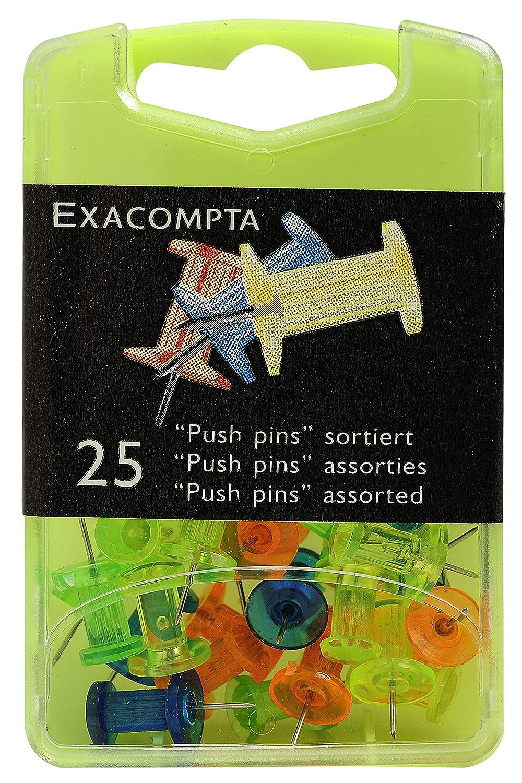 9 x 5.70 x 2.20 cm Multicolore Traslucidi Exacompta 14745E Spilli