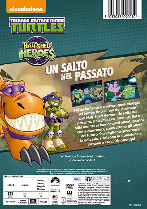 Teenage Mutant Ninja Turtles - Half-Shell Heroes Italia DVD ...