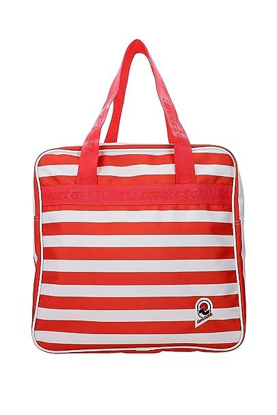 49a4d1a421 Borsa shopper INVICTA - ROVER - Vintage Original Stripes ROSSA ...