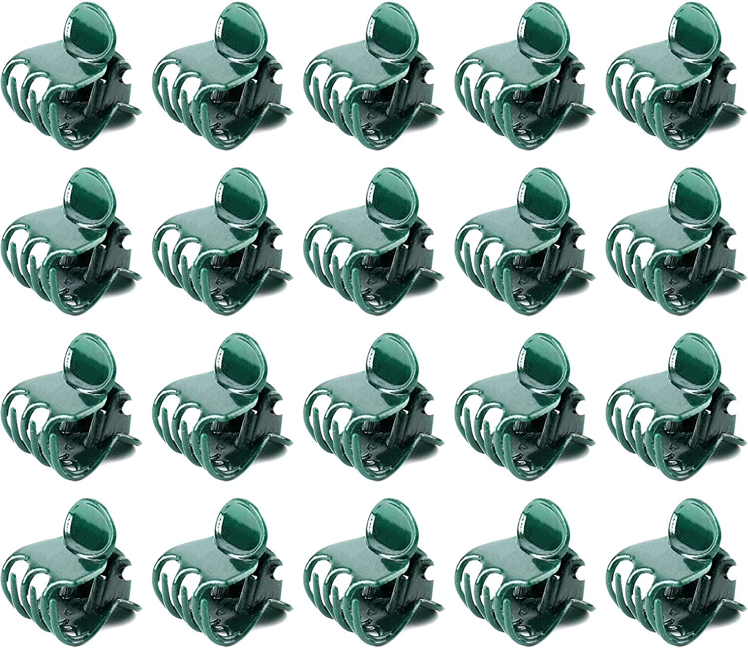 Fasmov 300 pcs Plant Clips Orchid Clips,Garden Flower Vine Clips,Plant Support Clips for Supporting Stems Vines Grow Upright