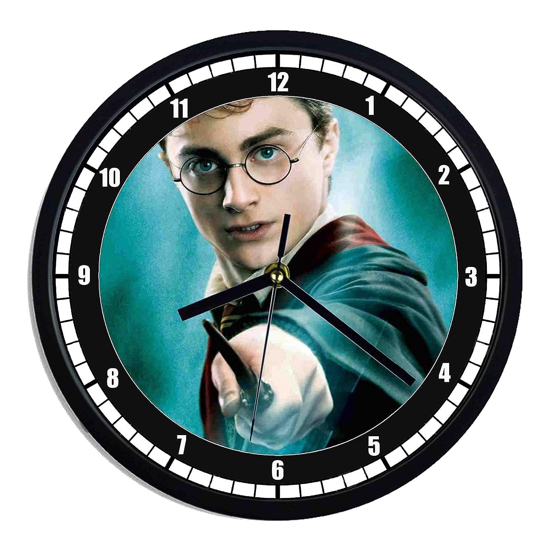 Horloge murale en plastique Harry Potter