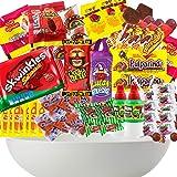Mexican Candy Box Premium Selection Mix Assortment Snack Dulces Mexicanos Best Sellers Spicy Bulk Includes Lucas Pelon Pulpar