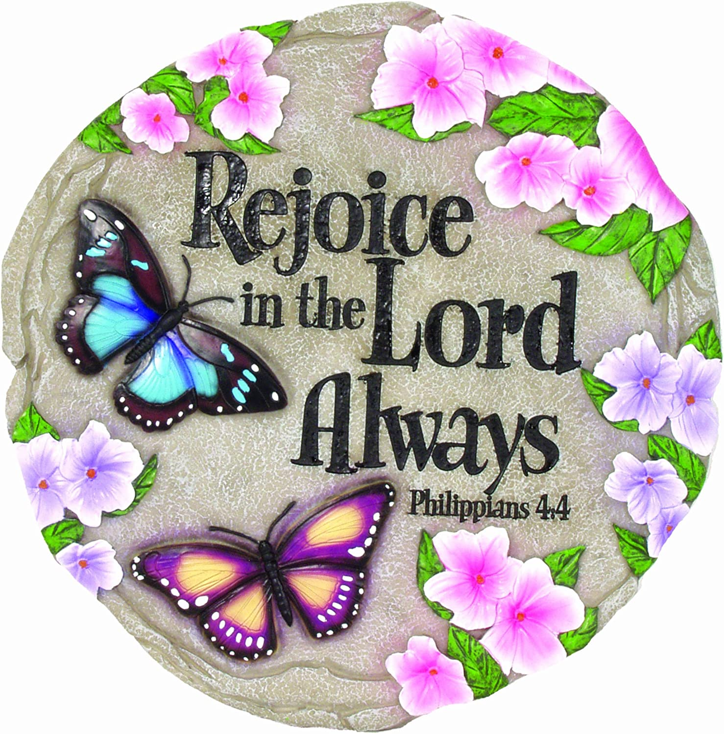 Spoontiques Rejoice in The Lord Stepping Stone