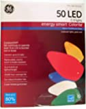 GE Energy Smart 50 Multicolor LED C-9 Holiday/Christmas Lights - 32.6ft String (Indoor/Outdoor) (1)