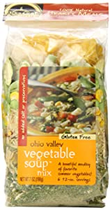 Frontier Soups Hearty Meals Soup Mix, Ohio Valley Vegetable, 7 Ounce