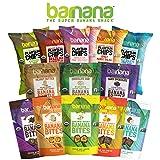 Barnana Organic Chewy Banana Bites - Original - 3.5 Ounce, 3 Pack Bites - Delicious Potassium Rich Banana Snacks - Lunch Dinner Sports Hiking Natural Snack - Whole 30, Paleo, Vegan, Packaging May Vary