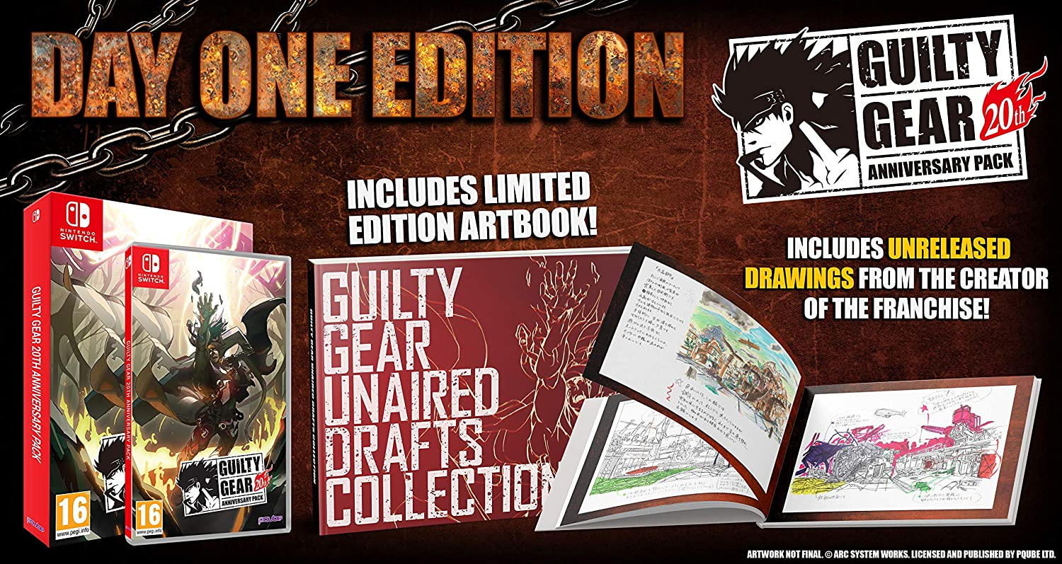 Guilty Gear 20TH Anniversary Day One Edition: Amazon.es ...