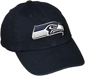 separation shoes c9586 f3a36 NFL Seattle Seahawks  47 Clean Up Adjustable Hat, Navy, One Size, Baseball  Caps - Amazon Canada