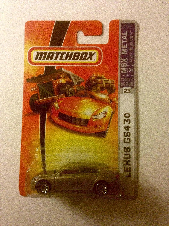 Matchbox Metallic Gold Lexus GS430#23 911ec7J-p3L