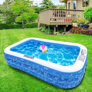 Inflatable Swimming Pool, 95