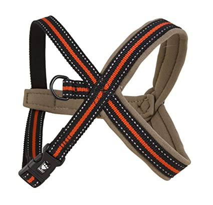 Hurtta Y-Harness negro-rojo, 90 cm: Amazon.es: Productos para mascotas