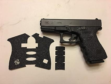 Hunting Military Rubber Gun Grip Glove for Glock 17 19 20 21 22 23 25 31