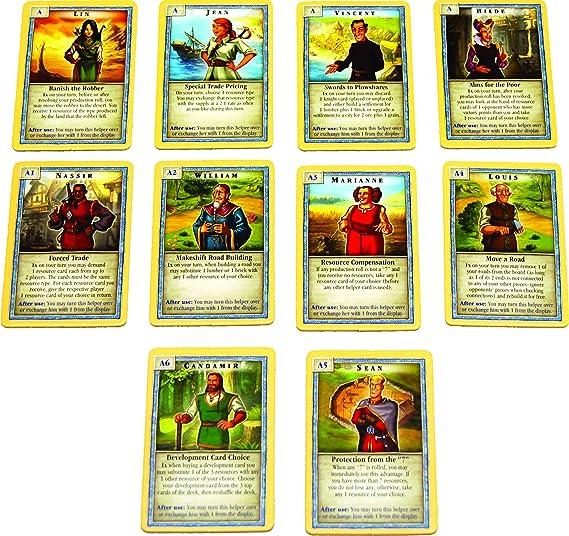 Mayfair Catan Scenarios: Helpers of Catan: Amazon.es: Juguetes y juegos
