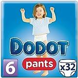 Dodot Pants - Pack 32 pañales, talla 6, 16+kg