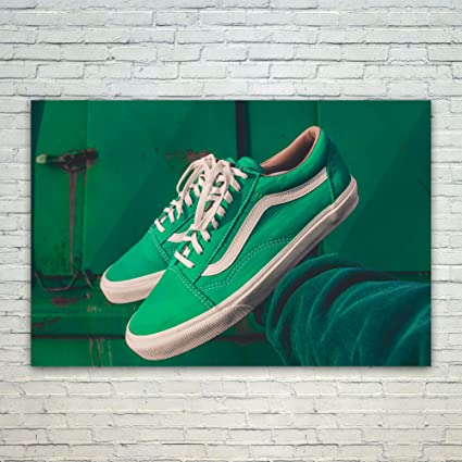 3cdcc65aa6 Amazon.com  Westlake Art Shoes Vans - 12x18 Poster Print Wall Art ...
